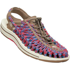 Keen Uneek Flat Sandals Herren walnut/crimson